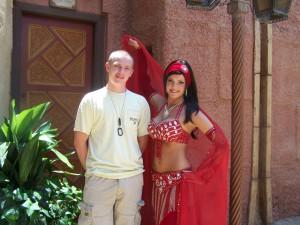 Hollie at Disney